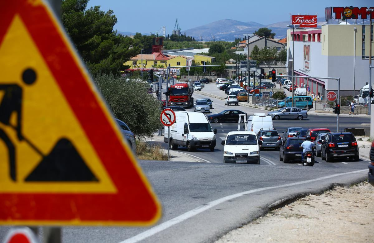 Gotovo je s gužvama na najopterećenijoj prometnici u Hrvatskoj: na ulaz u Split stiže nadvožnjak, gradit će se i rampe na Poljičkoj cesti