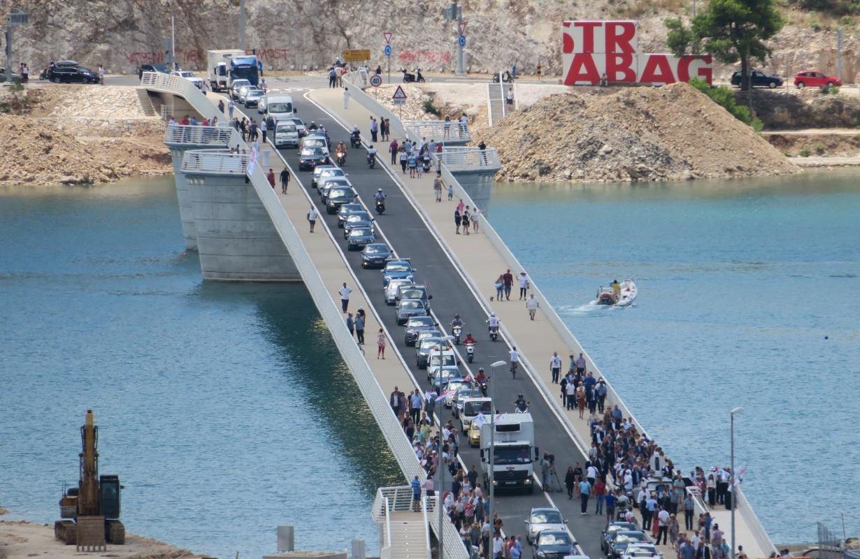 U promet pušten novi most Čiovo: