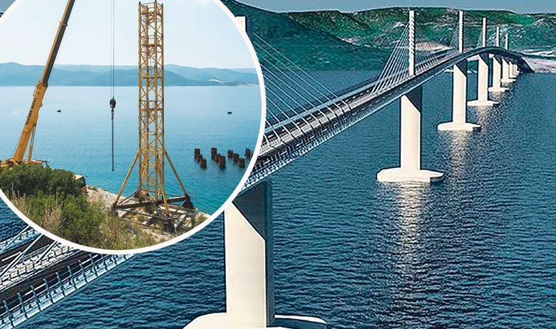 PRVI PUT CIJELA RUTA: KAKO ĆE IZGLEDATI PUT PREMA JUGU PREKO PELJEŠKOG MOSTA Sve ceste, tuneli, vijadukti i manji mostovi na novom putu do Dubrovnika