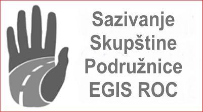 Sazivanje Skupštine Podružnice Egis Nezavisnog cestarskog sindikata