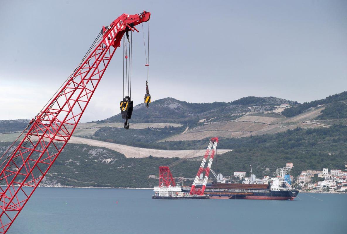 Novi zaplet oko Pelješkog mosta: Grci podnijeli upravnu tužbu