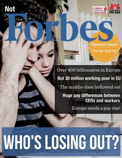 """30 milijuna Europljana na """"Popisu onih koji nisu bogati"""""""