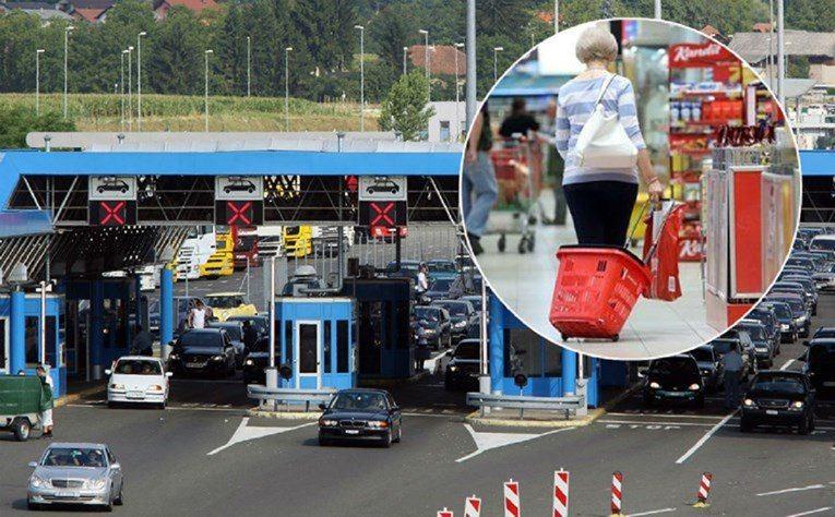 Rekordan broj Hrvata kupuje preko granice. Sve je jeftinije: 'Ušteda je ogromna'