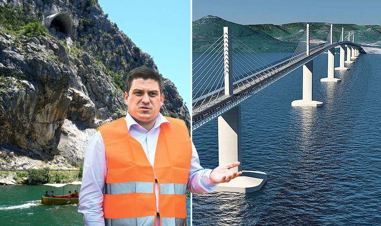 RAT U HRVATSKIM CESTAMA: ČLANOVI UPRAVE PROTIV DIREKTORA Iza priče o davanju smisla čuvenom tunelu našao se sukob oko gradnje ceste do Pelješkog mosta