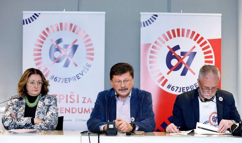 GOTOVA JE PROVJERA POTPISA! Za referendum o mirovinskoj reformi prikupljeno je više nego dovoljno potpisa, Vlada će pokušati spasiti barem dio reforme